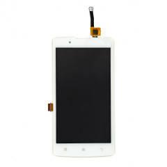 Дисплей (LCD) Lenovo A2010 с сенсором белый, фото 2