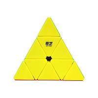 Пирамидка QiYi Qiming Piraminx с чехлом и подставкой