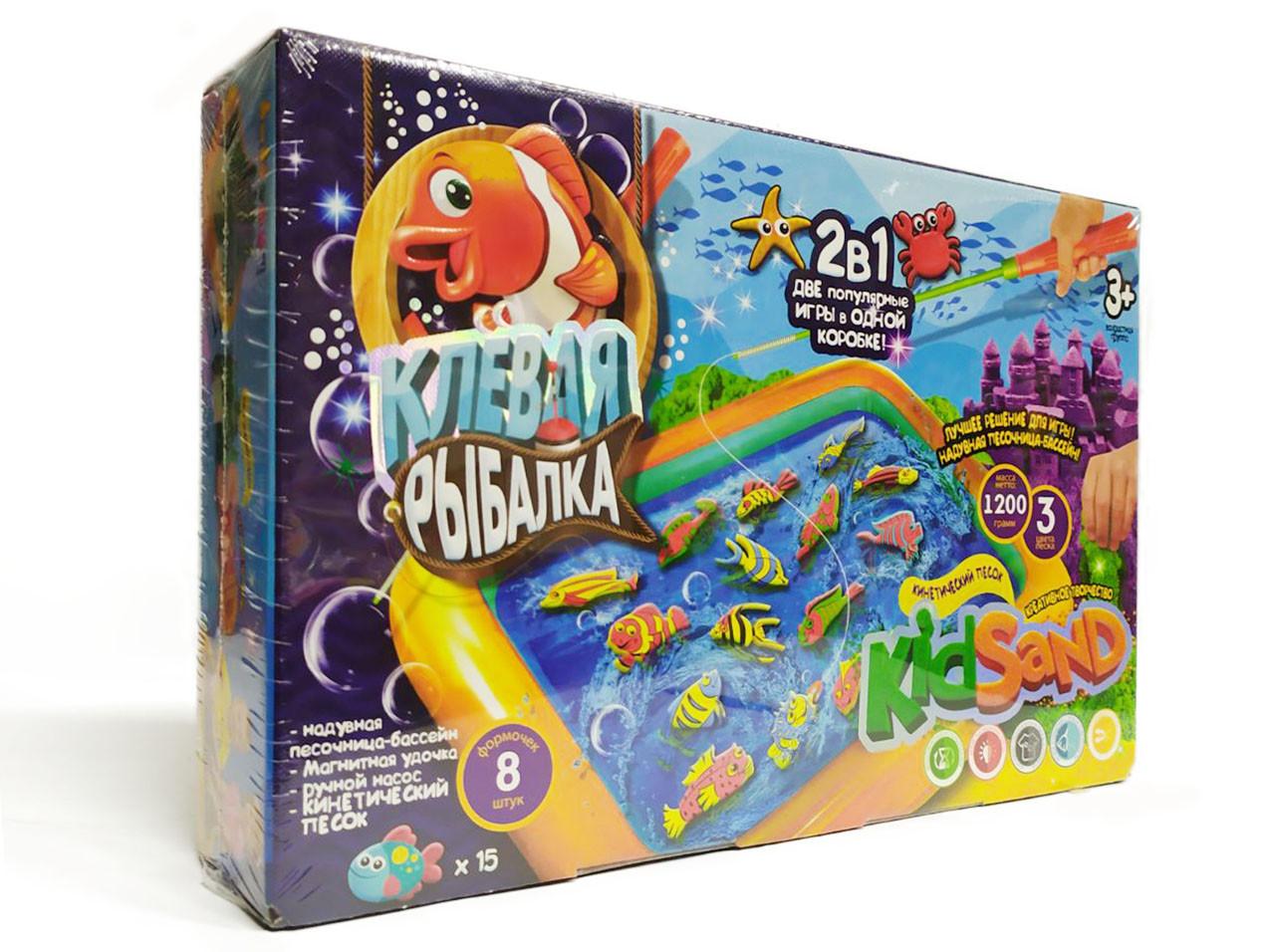 Настольная развлекательная игра Клевая рыбалка KRKS-01-01