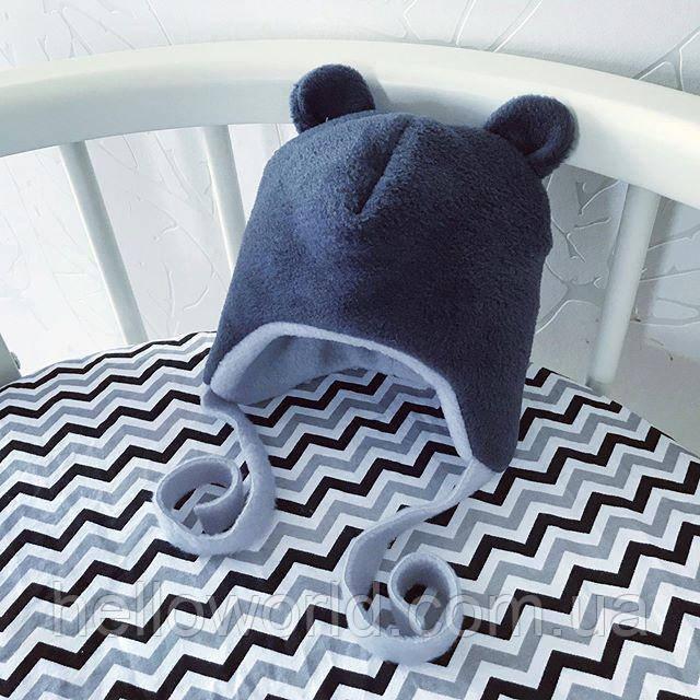Флисовая шапочка ТЕДДИ