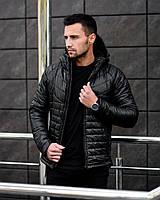 Куртка мужская NIGHT BLACK Зимняя тёплая