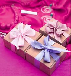 Подарочный пакет КВАДРАТ 24*24*10 см