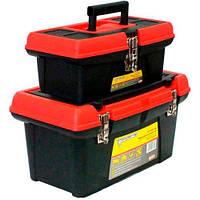 """Комплект ящиков для инструментов 2 шт, 13""""+16"""", Forte 2-1316 М1 (74580), фото 1"""