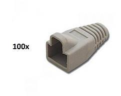 100x Колпачки для коннекторов RJ45 Cat5e UTP STP (00316)