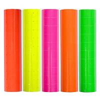 10x 300шт Ценник самоклеящийся для этикетпистолета, цветной (02099)