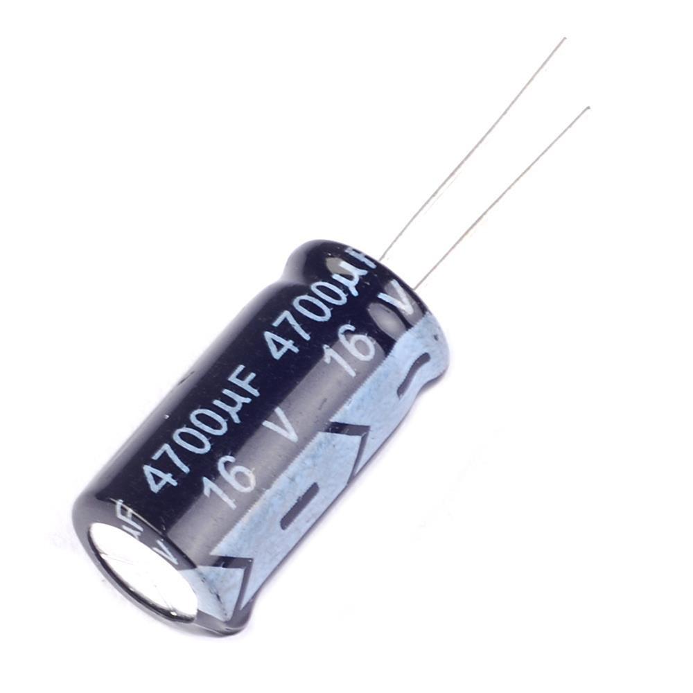 10шт. Конденсатор 4700мкФ 16В 105С электролитический алюминиевый набор