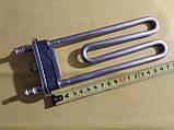 Тэн на стиральную машинку 1950 Вт. / 243 мм. с местом под датчик производство KAWAI Китай оригинал, фото 3