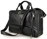Сумка мужская Vintage 14379 Черная, Черный