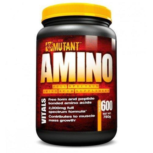 Амінокислоти MUTANT Amino 600 tabs