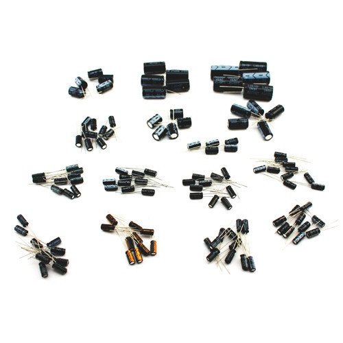 Конденсатор електролітичний 1-2200мкФ 50В набір, 120 шт