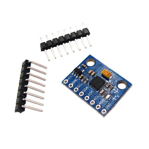 GY-521 Arduino акселерометр гироскоп 3-осевой на MPU-6050