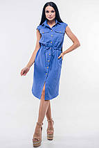 Женское платье-рубашка на кулиске (Кайли ri), фото 3