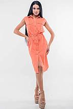 Женское платье-рубашка на кулиске (Кайли ri), фото 2