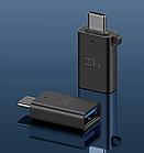 Адаптер Xiaomi ZMI Type-C - OTG USB 3.0 черный AL272, фото 3