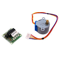 4-фазный шаговый мотор + ULN2003 драйвер, Arduino (01996)