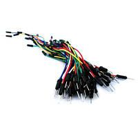 Соединительные провода, джамперы для макетов набор, 65 шт