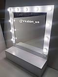 Зеркало для гримерки с ящиком А238, фото 2