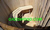 Офуро, японская баня, фурако из дуба с увеличенными стенками до 40мм. от 2-х до 6-ти человек