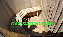 Офуро, японська лазня, фурако з дуба з збільшеними стінками до 40мм. від 2-х до 6-ти осіб