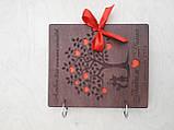 Весільний дерев'яна яний альбом для побажань та фото, фото 6