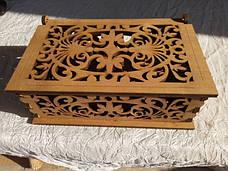Скринька ажурна маленька, фото 3