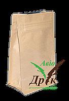 Пакет 120х80х200 Крафт-плоское дно Zip-Lock (250г)