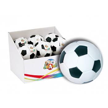 Игрушка для собак CaniAMici мяч футбольный мягкий, 9см