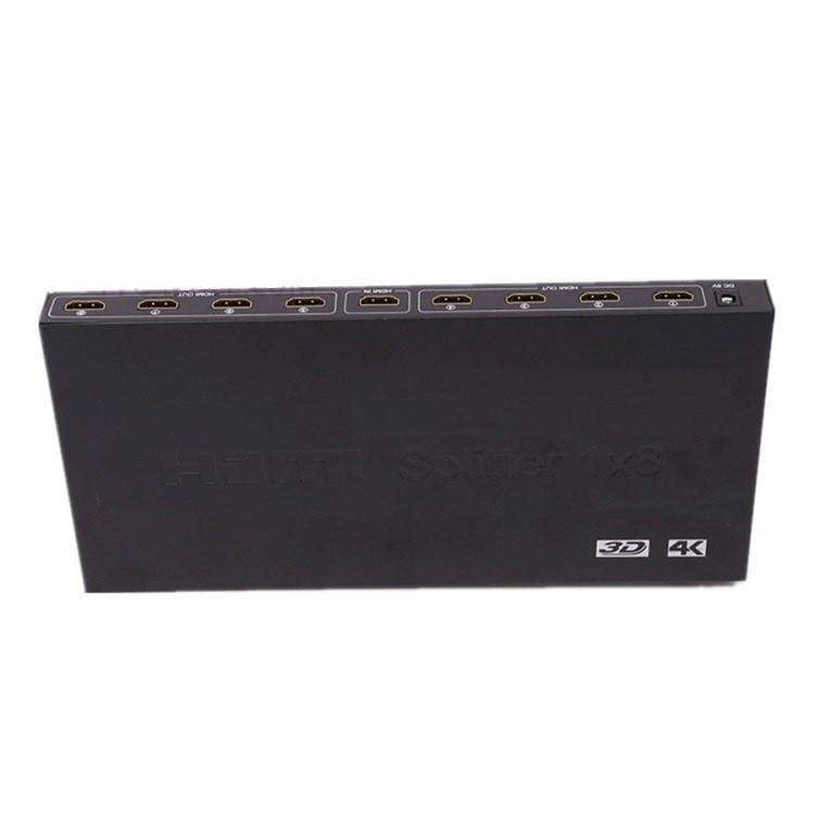 HDMI разветвитель 1x8 порта 4K 3D, HDMI сплиттер