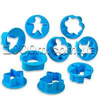 Формочки для печенья пластиковые «Ассорти в круге из 9 предметов»