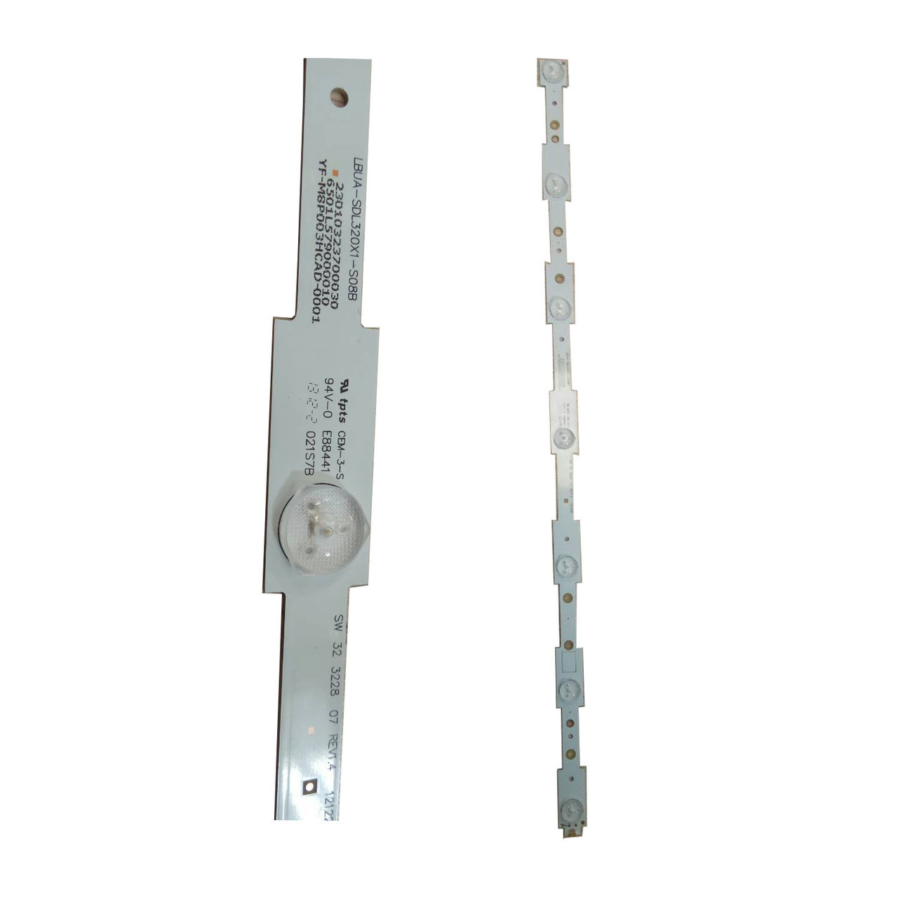"""SW 32 3228 07 REV1.4 LED планка подсветки  LCD 32"""" телевизоров 580мм"""