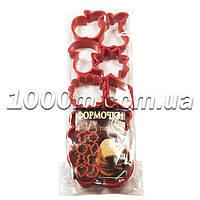 Формочки для печенья пластиковые «Ассорти грибок из 10 предметов»