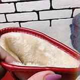 Угги женские красные  13-112 ⏩ [ 36 последний размер ], фото 2