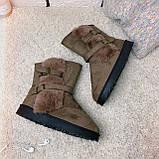 Женские коричневые угги 13-010 ⏩ [ 36,37 ], фото 7