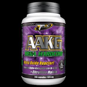 AAKG Mega Hardcore Trec Nutrition - 120 caps, фото 2
