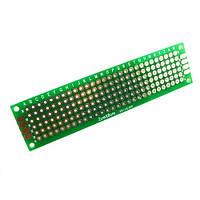 PCB 2x8 см двухсторонняя печатная плата (02619)