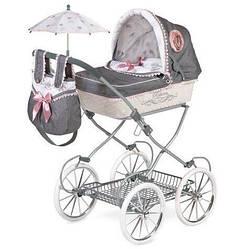 Коляска для куклы с сумкой и зонтикомDeCuevas81031 Daniela81 сантиметр классическая
