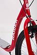 """Самокат """"RAIDER"""" Черный. Колёса 16-12 дюймов красный, фото 6"""