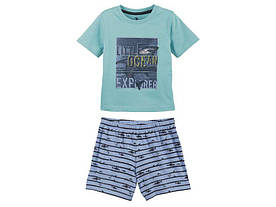 Костюм для мальчика, пижама Little Ocean Lupilu (Германия) р.86/92, 110/116