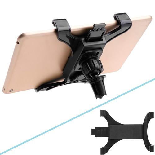 """Автомобильный держатель планшета GPS 7-11"""" на решетку обдува, шарнир"""