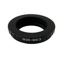 Адаптер-перехідник L39 M39 - Micro 4/3 M4/3 Ulata
