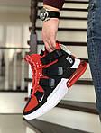 Чоловічі кросівки Nike Air Force 270 (чорно-червоні), фото 2