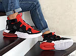 Чоловічі кросівки Nike Air Force 270 (чорно-червоні), фото 4