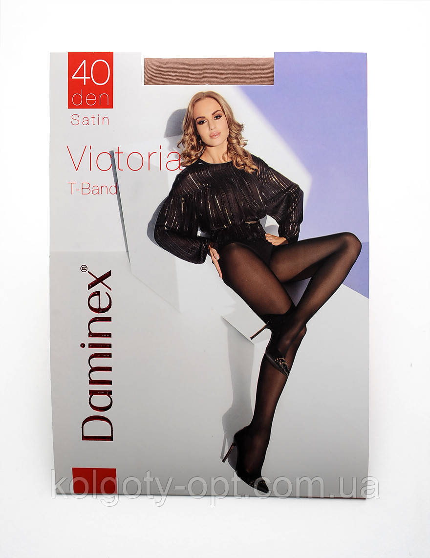 Daminex Victoria 40 den колготки еластичні без шортиків колготи