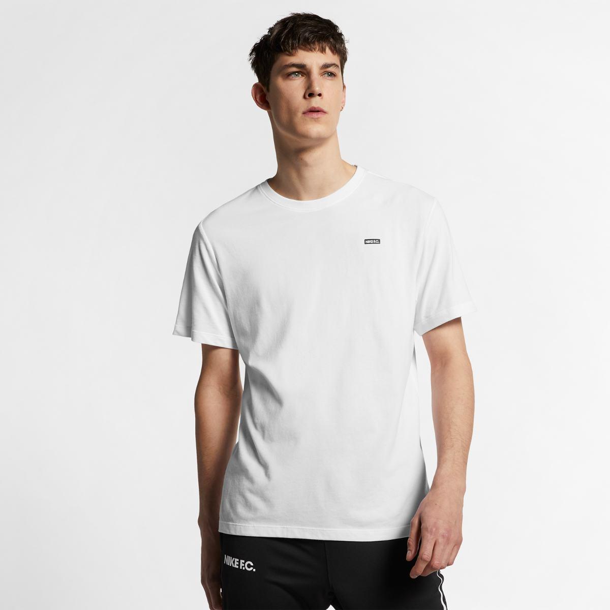 Футболка Nike F.C. Dry Block - White/Black - Оригинал. Размер L