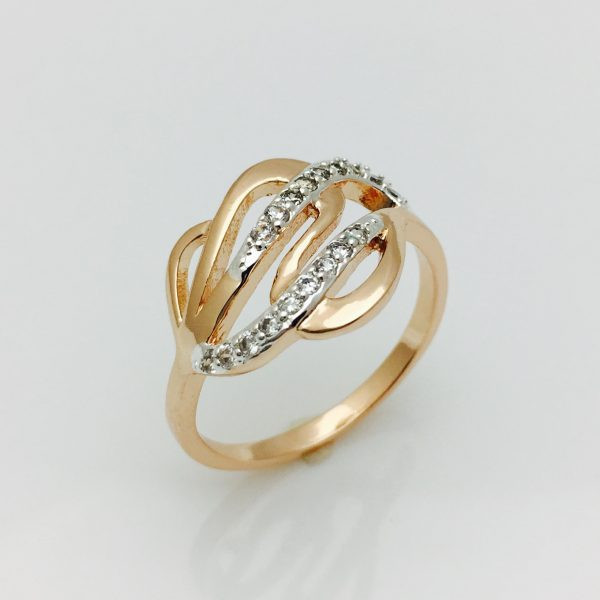 Кольцо шлейф, размер 16, 17, 18, 19, 20
