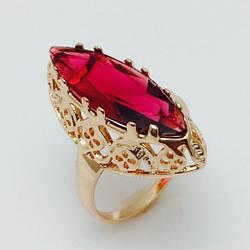 Перстень Маркиза  позолота 18К , размер  18, 19, 20