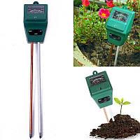 Анализатор почвы 3в1 измеритель pH, влажности, освещенности ETP-301 (02137)