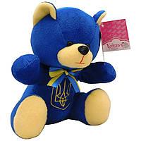 Мягкая игрушка Медвеженок Мирослав голубой 22 см