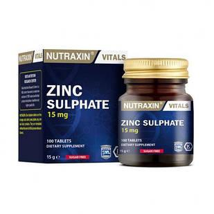 Дієтична добавка BIOTA Цинк  NUTRAXIN 100 таблеток (4743005)