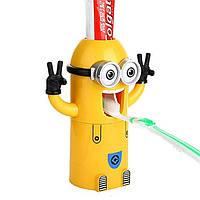 Яркий Автоматический детский дозатор зубной пасты Миньон.